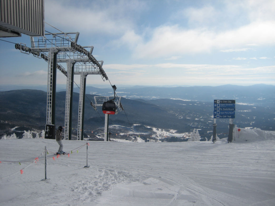 Summit Gondola, Stowe Mountain Resort, Stowe, VT