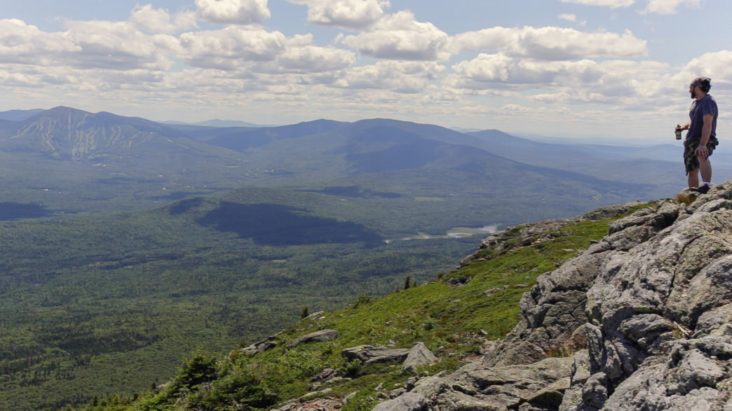 20170620_Hiking Myron Avery Peak on the Appalachian Trail