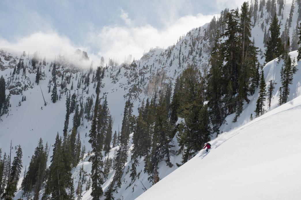 20170817 Alta Backcountry Scenic Pow Shot
